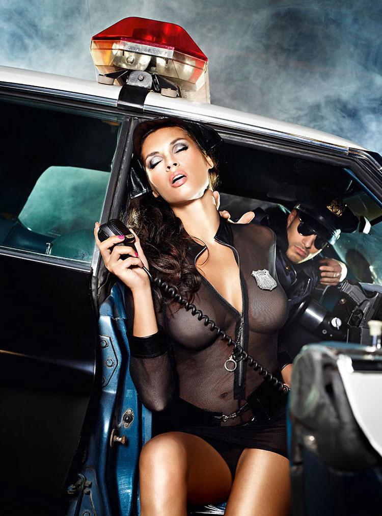 美國 Baci - Undercover Cop Set 火辣女警 警察套裝 四件組 S/M