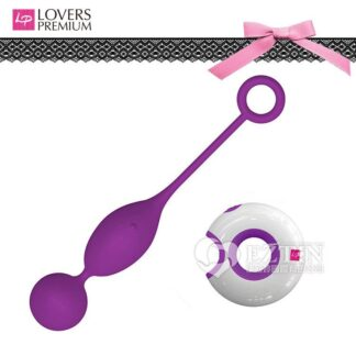 荷蘭 LoversPremium - O-Remote Julia 茱莉亞 防水變頻遙控跳蛋 紫色